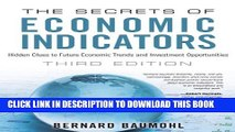 [PDF] The Secrets of Economic Indicators: Hidden Clues to Future Economic Trends and Investment
