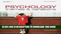 [Read PDF] CDN ED Psychology: Themes and Variations, 2e: Themes and Variations, Second Canadian