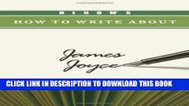 [PDF] Bloom s How to Write about James Joyce (Bloom s How to Write about Literature) Full Online