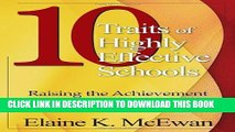 [PDF] Ten Traits of Highly Effective Schools: Raising the Achievement Bar for All Students Popular