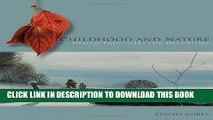 [PDF] Childhood and Nature: Design Principles for Educators Full Colection