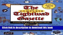 Read The Complete Tightwad  Gazette: Promoting Thrift as a Viable Alternative Lifestyle  Ebook Free