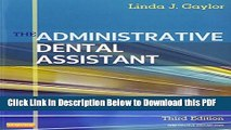 [Read] The Administrative Dental Assistant - Text and Workbook Package, 3e Full Online