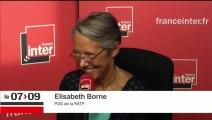 Elizabeth Borne répond aux questions des auditeurs de France Inter