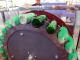 Máy rửa chai thủy tinh, máy tráng chai, máy rửa chai đã sử dụng, máy rửa chai bán tự động