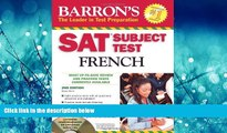 Enjoyed Read SAT Subject Test French: With 3 Audio CDs (Barron s SAT Subject Test French (W/CD))