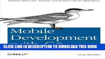 PDF] Learn 2D Game Development with C#: For iOS Android
