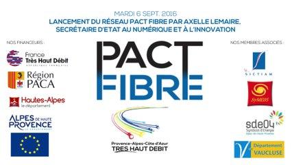 PACA TRES HAUT DEBIT - Le projet d'aménagement numérique
