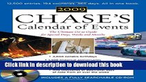 Read Chase s Calendar of Events 2009 (Book + CD-ROM): The Ulitmate Go-To Guide for Special Days,