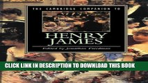 [PDF] The Cambridge Companion to Henry James (Cambridge Companions to Literature) Full Colection