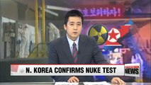 "N. Korea ""successfully"" carried out nuclear warhead test: KCTV"