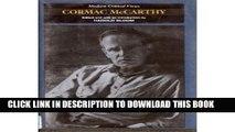 [PDF] Cormac McCarthy (MCV) (Bloom s Modern Critical Views) Popular Colection