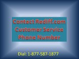 Contact Rediff.com Customer Service Phone Number 1-877-587-1877