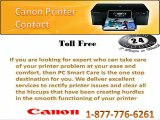 Live Aid Just By Calling Canon Printer Contact 1-877-776-6261