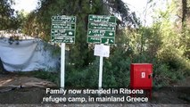 Disabled Syrian refugee recounts tough journey to Europe
