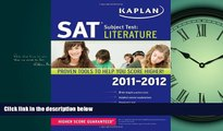 Popular Book Kaplan SAT Subject Test Literature 2011-2012 (Kaplan SAT Subject Tests: Literature)