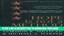 [PDF] Hope is Not a Method Popular Online[PDF] Hope is Not a Method Popular Collection[PDF] Hope