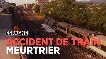 Espagne : au moins quatre morts dans un accident de train