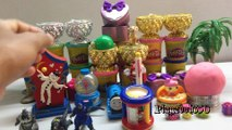 SURPRISE EGGS with PLAY DOH Surprise Toys,Godzilla Monster,Shopkins,The Lion King,Toys for Kids