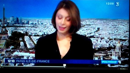 ITW sur l'antenne de France 3 IDF pour parler de l'histoire des arrondissements de Paris