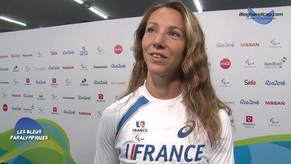 Marie-Amélie Le Fur - Médaille d'Or saut en longueur T44 - Jeux Paralympiques Rio 2016
