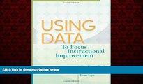 Popular Book Using Data to Focus Instructional Improvement