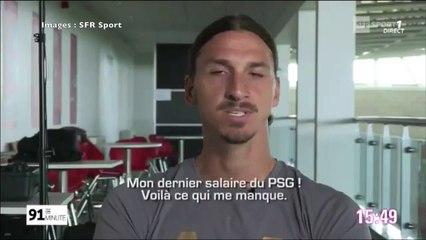 Découvrez ce qui manque le plus à Zlatan au sujet du PSG et Paris