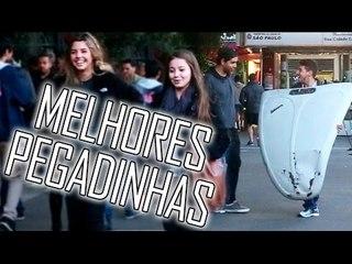MELHORES PEGADINHAS -  3 ANOS DE NÃO É SÉRIO