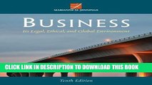 [PDF] Business: Its Legal, Ethical, and Global Environment Popular Collection