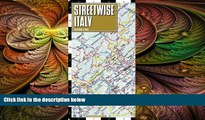 behold  Streetwise Italy Map - Laminated Country Road Map of Italy - Folding pocket size travel