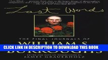 [PDF] Last Words: The Final Journals of William S. Burroughs (Burroughs, William S.) Full Collection