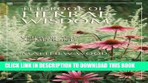 PDF] The Book of Herbal Wisdom: Using Plants as Medicines
