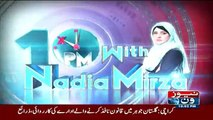 10PM With Nadia Mirza - 9th September 2016