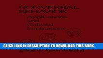 [PDF] Nonverbal Behavior: Applications and Cultural Implications Popular Colection