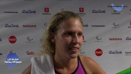Élodie Lorandi - 50m Nage libre S10 - 5 ème - Jeux Paralympiques Rio 2016