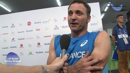 Pierre Fairbank - Finale du 100m T54 - 5ème - Jeux Paralympiques Rio 2016