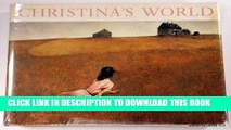 [PDF] Christina s World: Paintings and Prestudies of Andrew Wyeth Full Online