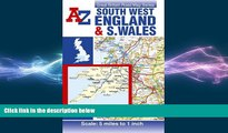 Free [PDF] Downlaod  South West England and South Wales Road Map AZ (Great Britain Road Maps 5