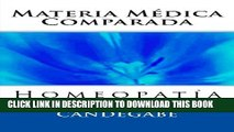 Collection Book Materia Médica Comparada (Spanish Edition)