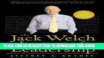 [PDF] The Jack Welch Lexicon of Leadership: Over 250 Terms, Concepts, Strategies   Initiatives of