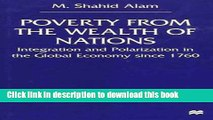 Read Poverty From The Wealth of Nations: Integration and Polarization in the Global Economy since