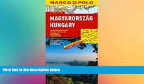READ book  Hungary Marco Polo Map (Marco Polo Maps) by Marco Polo Travel Publishing (2014-01-08)