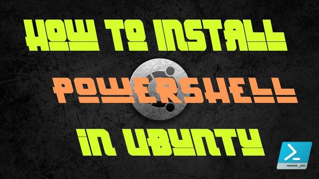 How to install Windows Powershell in Ubuntu 14.04