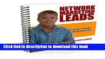 PDF How to Create Network Marketing Leads with Post Cards (Network Marketing/MLM Lead Generation