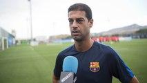 FCB Masia: valoraciones de Gerard López, previa Alcoià-FC Barcelona B [ESP]
