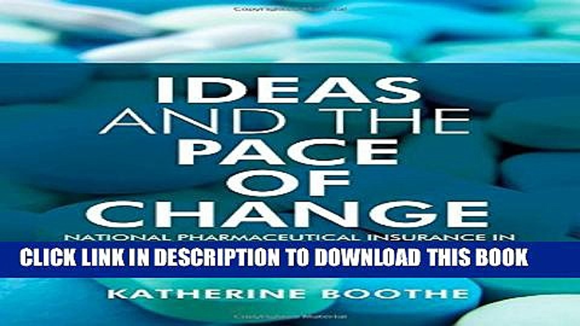 [PDF] Ideas and the Pace of Change: National Pharmaceutical Insurance in Canada, Australia, and