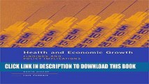 [PDF] Health and Economic Growth: Findings and Policy Implications (MIT Press) Popular Online