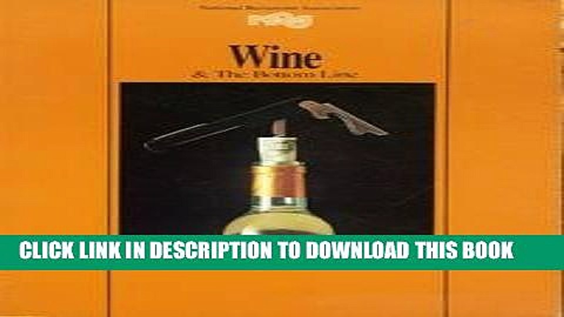 [PDF] Wine and the Bottom Line: A Restaurant Training Manual Full Colection