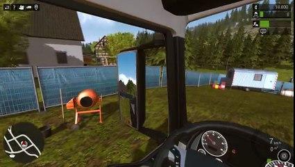 Construction simulator 2015 #1 Le démarrage de mon entreprise