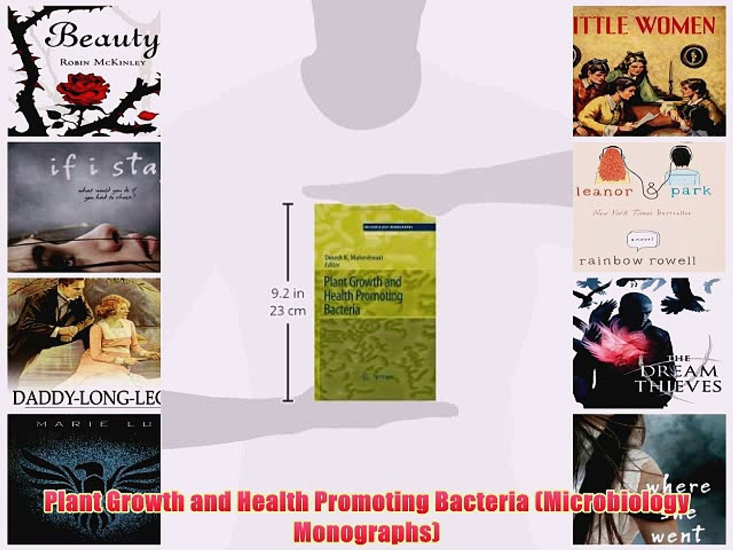 [PDF] Plant Growth and Health Promoting Bacteria (Microbiology Monographs) Full Online